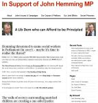 25 In Support of John Hemming